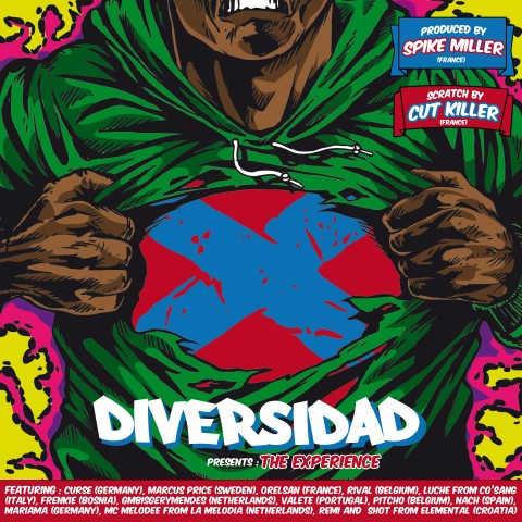 Diversidad - The Experience Cover